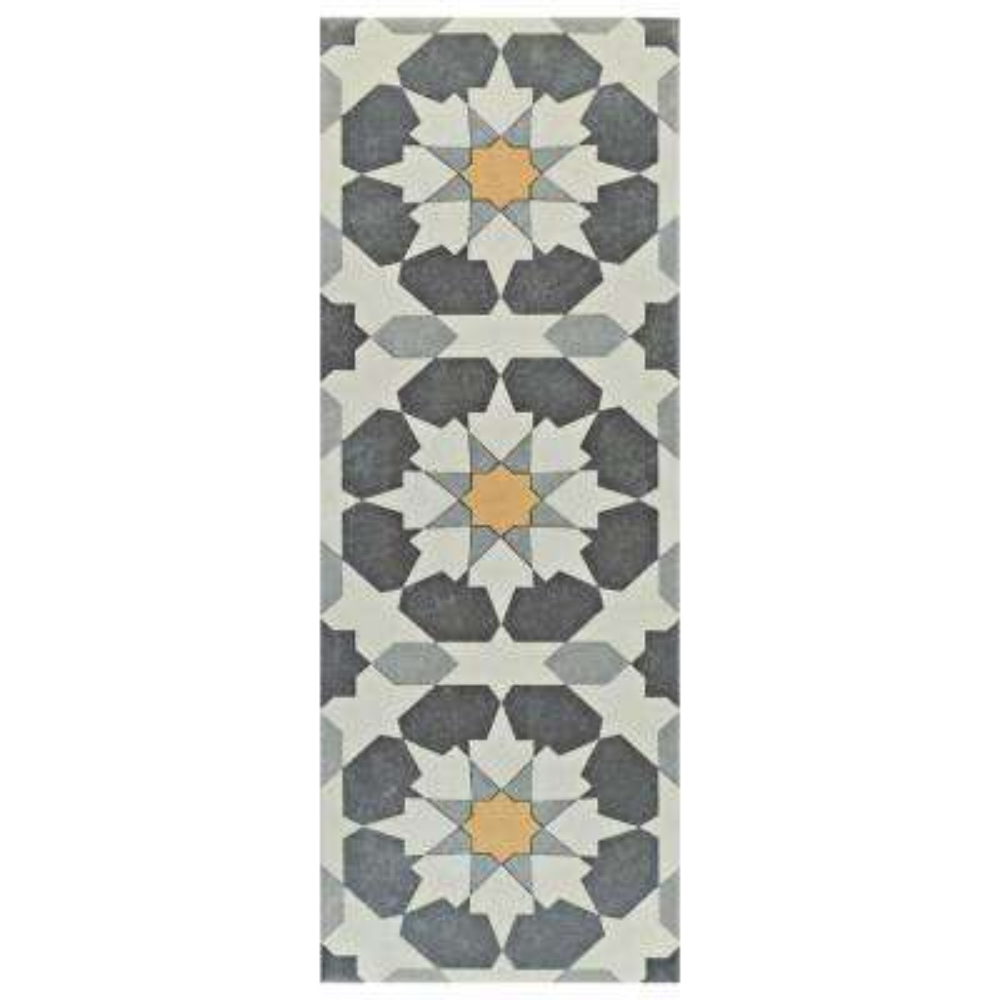 Artline Sun Encaustic 5-7/8 in. x 15-3/4 in. Ceramic Floor and Wall Tile (10.89 sq. ft. / case)