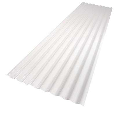 26 in. x 8 ft. White PVC Roof Panel
