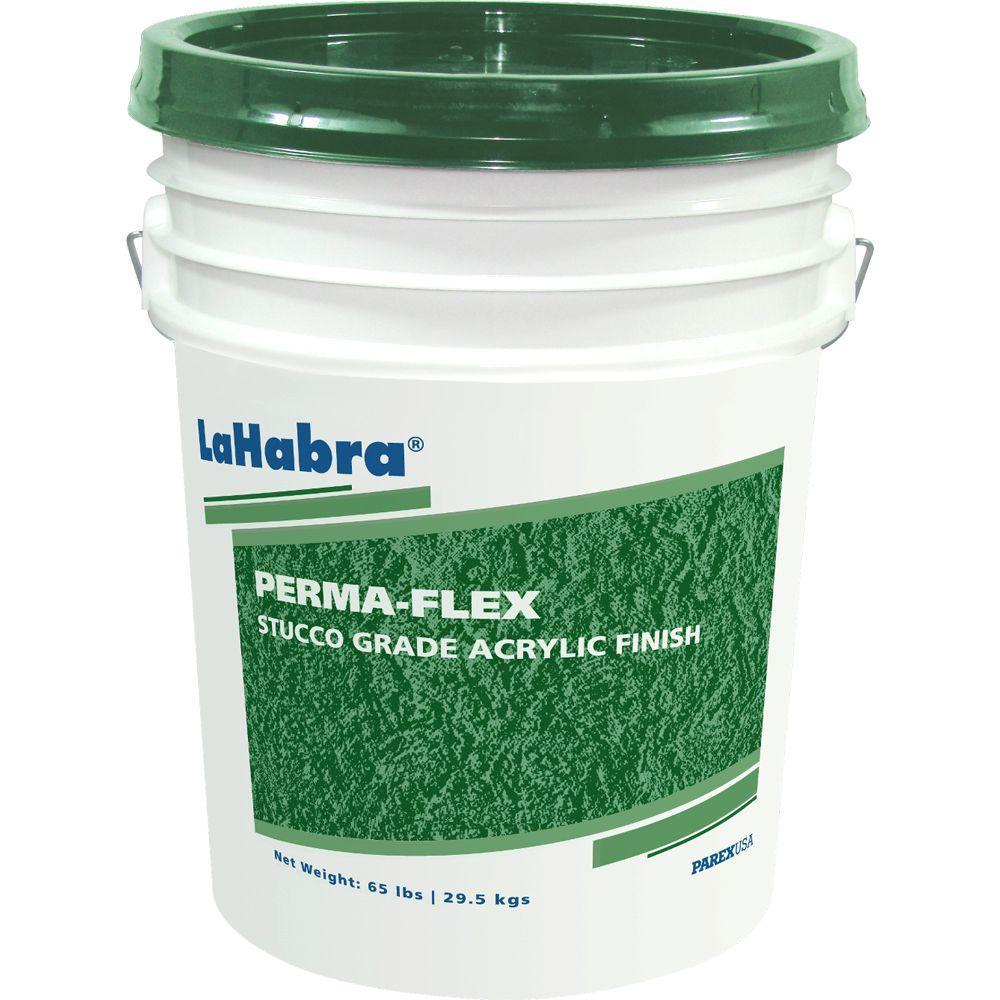 LaHabra Perma-Flex 65 lb. Coarse Stucco Grade Acrylic Finish