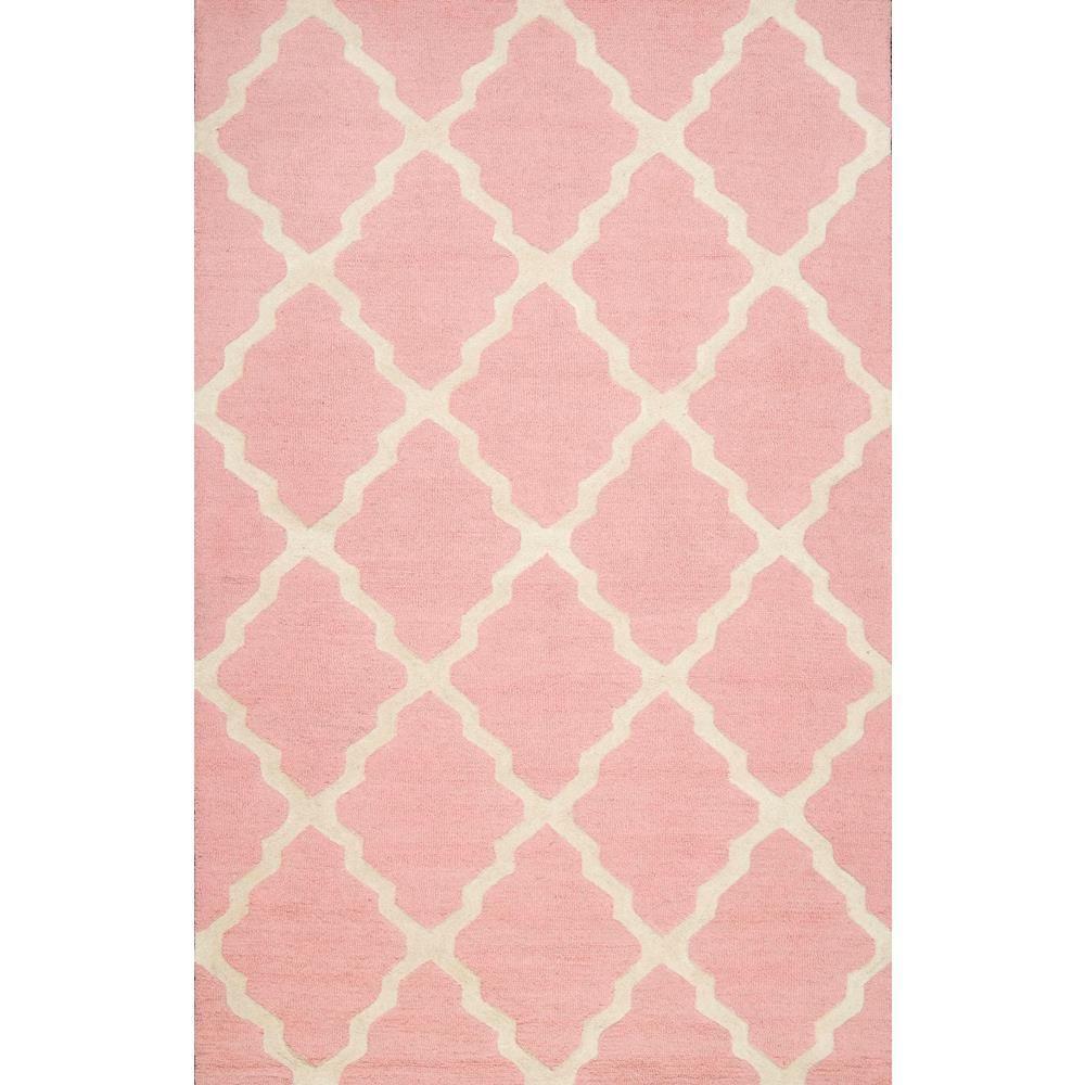 NuLOOM Trellis Baby Pink 5 Ft. X 8 Ft. Area Rug-MTVS27V