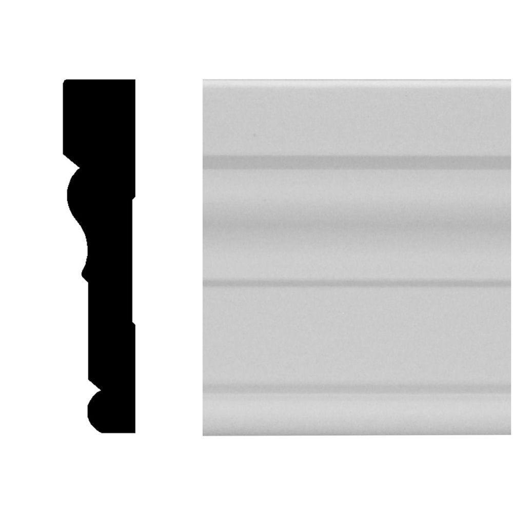 3/4 in. x 3-1/2 in. x 96 in. MDF Primed Casing Moulding