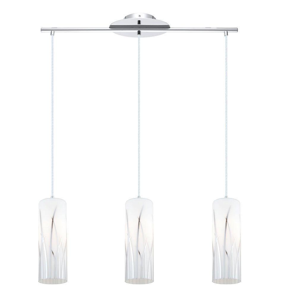 Eglo rivato 3 light chrome hanging light 92741a the home depot eglo rivato 3 light chrome hanging light arubaitofo Choice Image