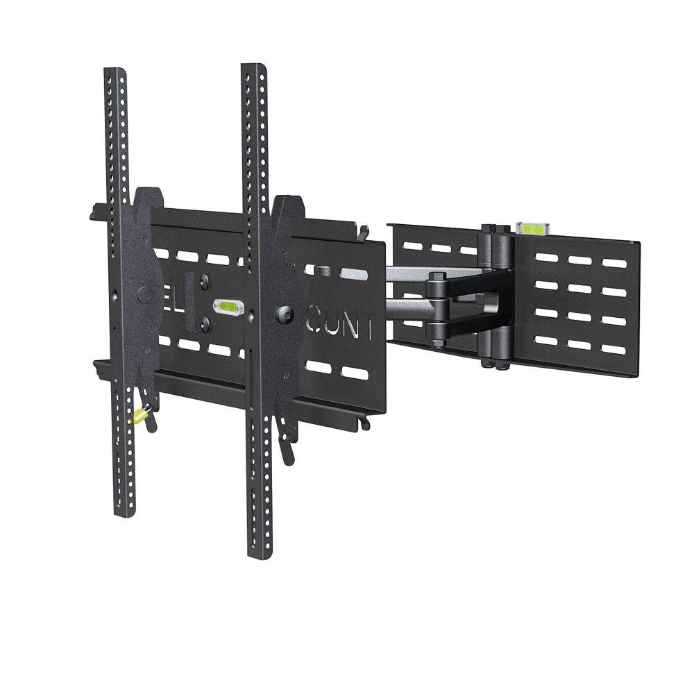 Level Mount Cantilever Mount Fits 37 in. to 85 in. TVs, B...