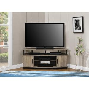 Ameriwood Home Carson Tv Stand For 50 Inch Tvs Sonoma Oak Dorel