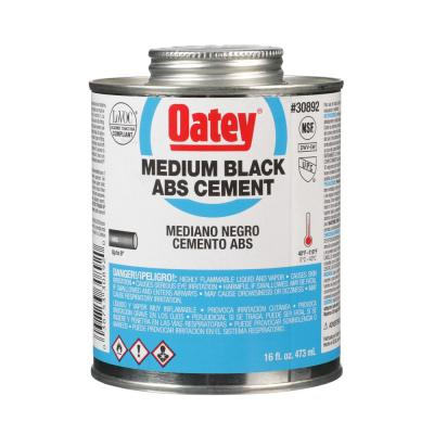 16 oz. Medium Black ABS Cement