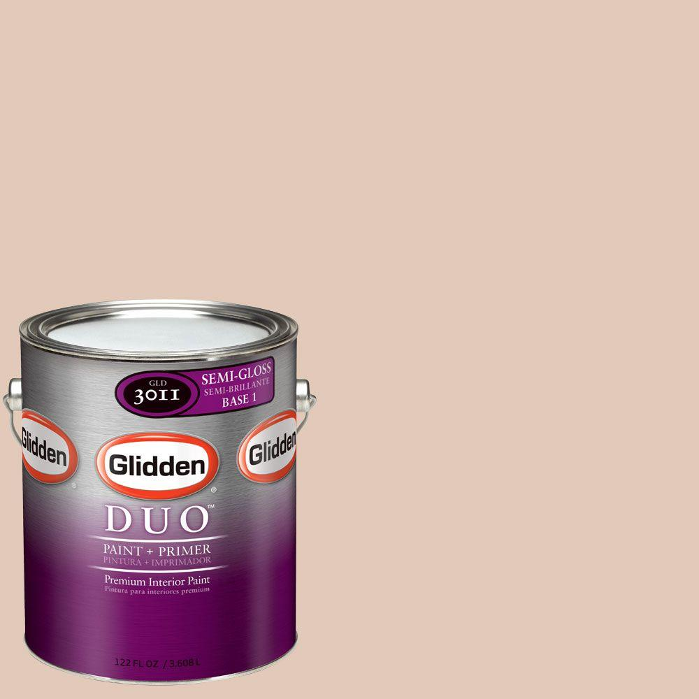 Glidden DUO Martha Stewart Living 1-gal. #MSL034-01S Wood Putty Semi-Gloss Interior Paint with Primer-DISCONTINUED