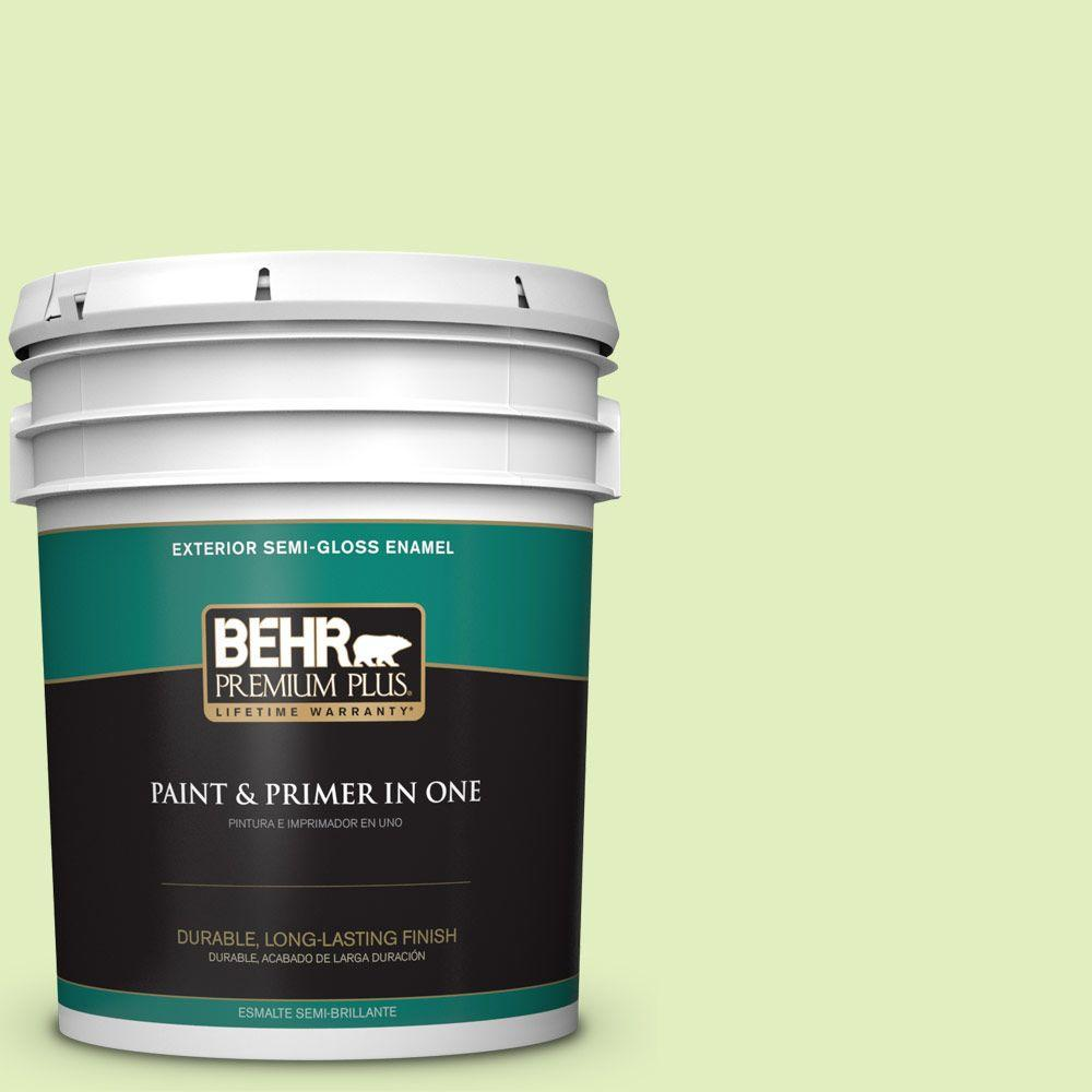 5-gal. #420A-2 Spirit Whisper Semi-Gloss Enamel Exterior Paint