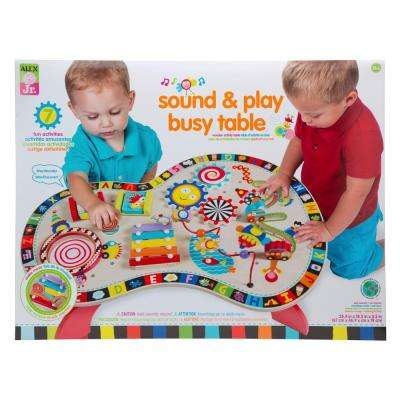 Jr. Sound and Play Busy Table