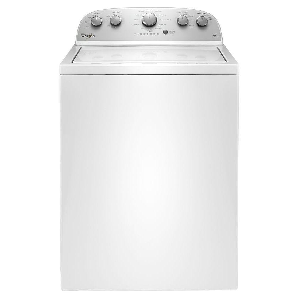 Whirlpool 3 5 Cu Ft High Efficiency White Top Load