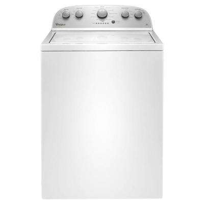 3.5 cu. ft. High-Efficiency White Top Load Washing Machine with Water Selection