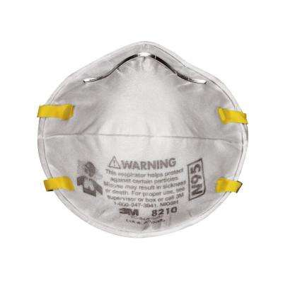 N95 Particulate Respirator Dust Mask (20-Pack) (Case of 4)