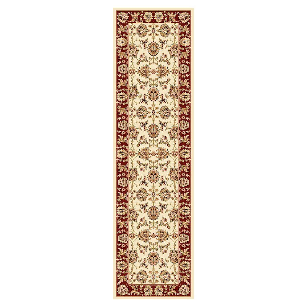 Kas Rugs Traditional Kashan Ivory 2 Ft 2 In X 7 Ft 11