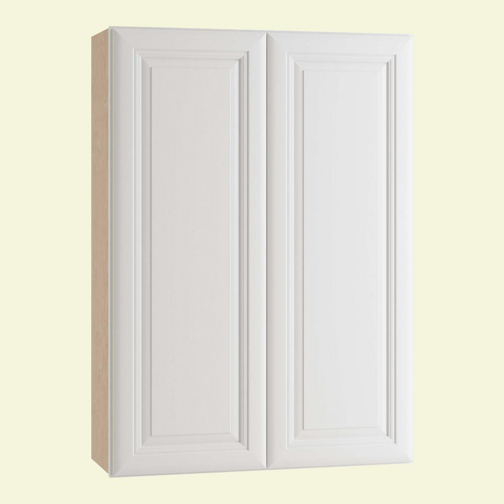 Home Decorators Collection Brookfield Assembled 30x42x12 In Double Door Wall Kitchen Cabinet In