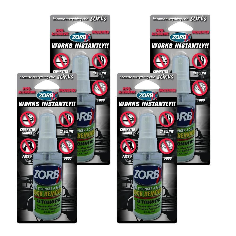 2 oz. Unscented Automotive Odor Remover (4-Pack)