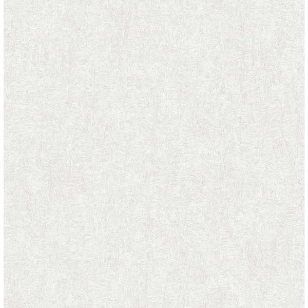 Brewster 56.4 sq. ft. Ludisia Silver Brushstroke Texture Wallpaper 2766-24423