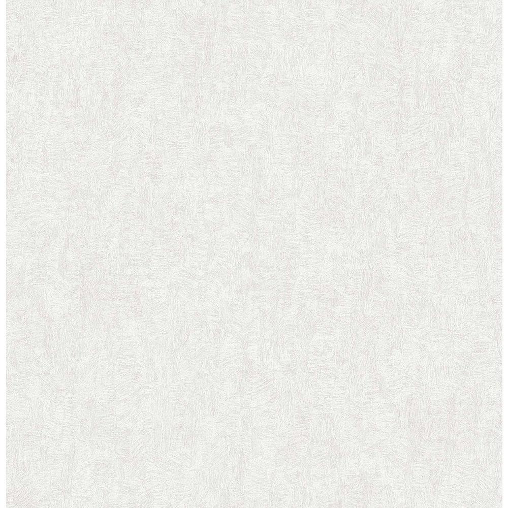 8 in. x 10 in. Ludisia Silver Brushstroke Texture Wallpaper Sample