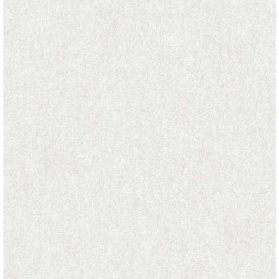 8 in. x 10 in. Ludisia Silver Brushstroke Texture Wallpaper Sample