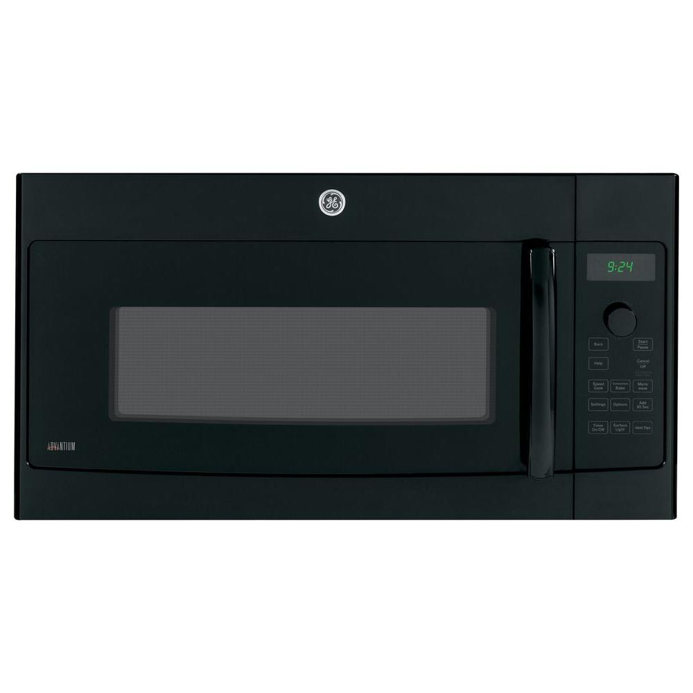 GE Profile Advantium 1.7 cu. ft. Over the Range Speed Cook Convection Microwave in Black