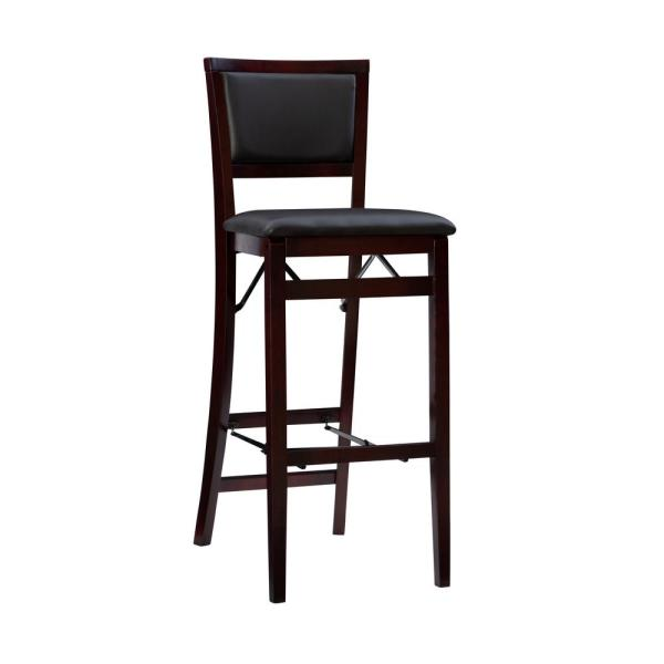 Linon Home Decor Keira Espresso Folding Stool 01832esp 01 As U The Home Depot