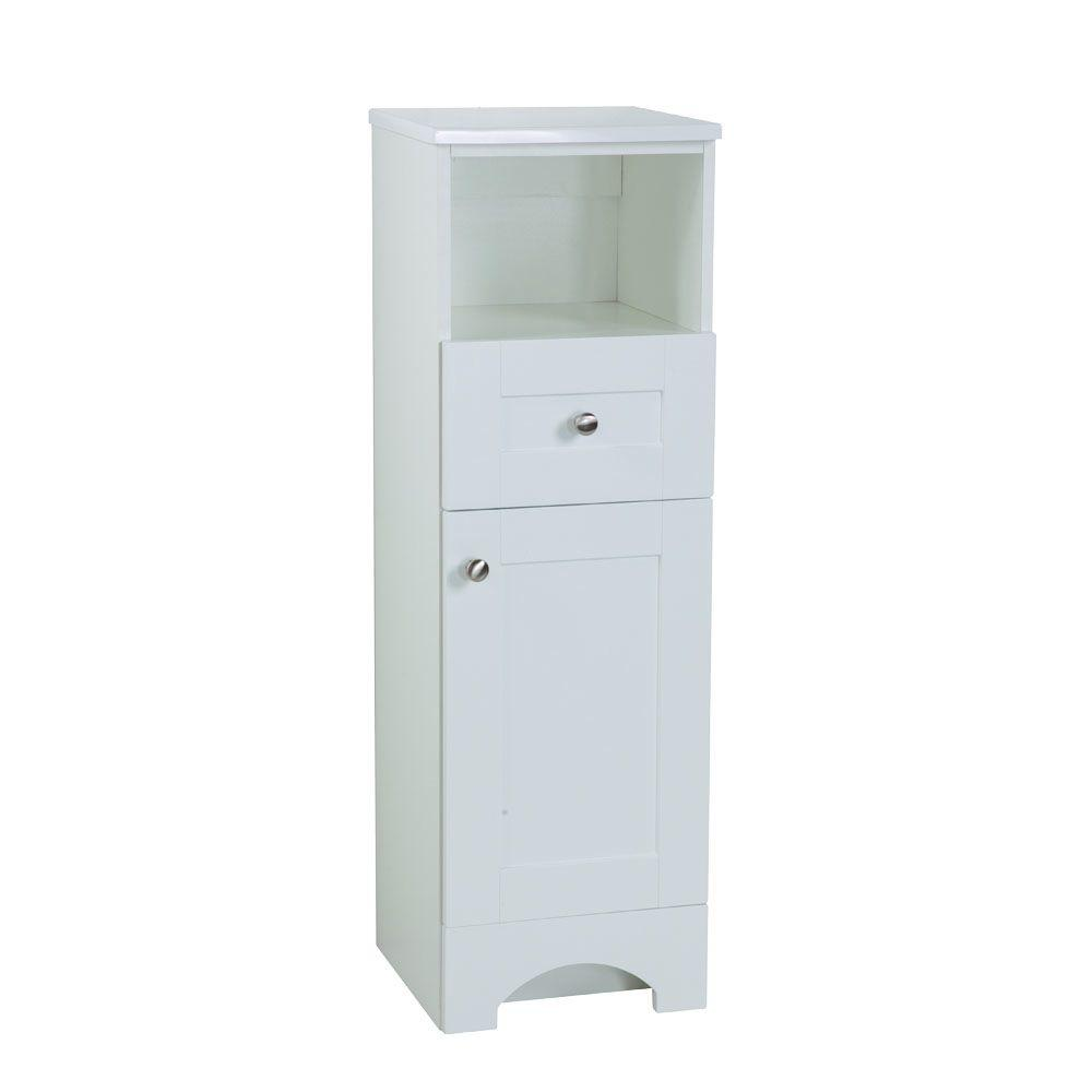 w h distressed white tower cabinet cupboard co linen in tall storage x mixdown bathroom