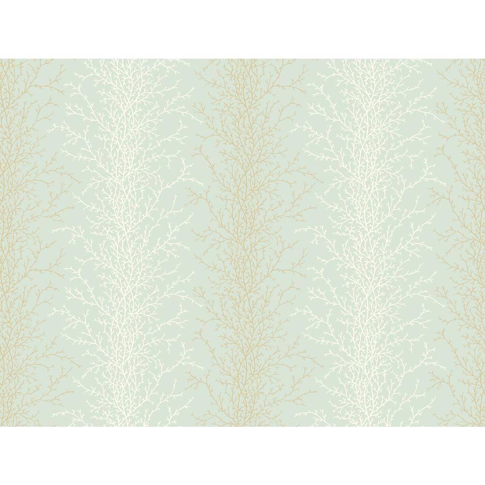 York Wallcoverings Coral Stripe Wallpaper-YV8988