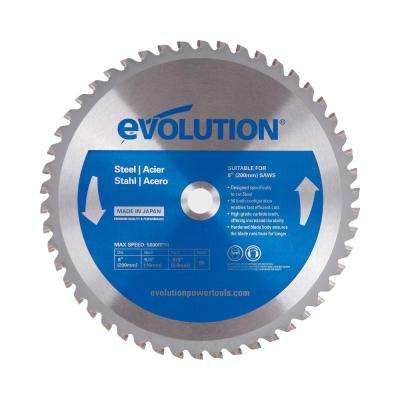 8 in. 50-Teeth Mild Steel Cutting Saw Blade