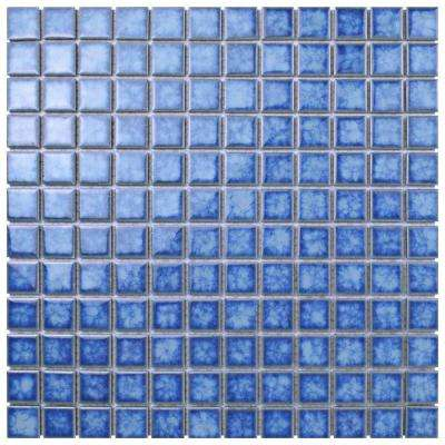 Lagoon Square Baltic 11-3/4 in. x 11-3/4 in. x 6 mm Porcelain Mosaic Tile