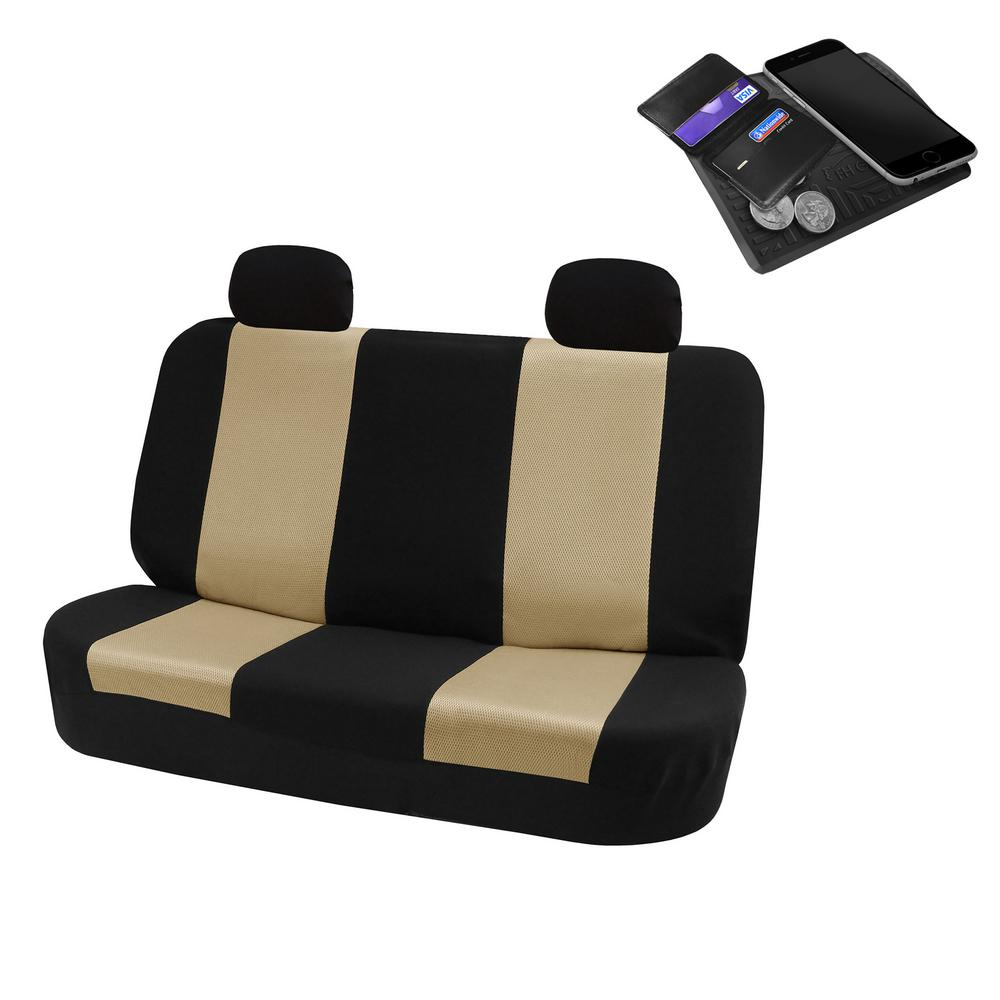 Magnificent Fh Group Flat Cloth 52 In X 58 In X 1 In Rear Car Seat Cover Dailytribune Chair Design For Home Dailytribuneorg