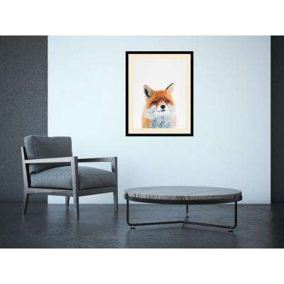 "23 in. W x 29 in. H ""Fox"" by Tai Prints Framed Art Print"
