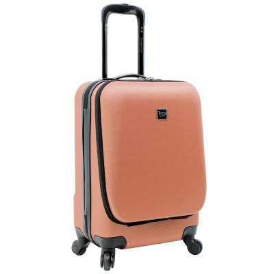 20 in. Laptop Rolling Carry-On with Front Opening Computer Section