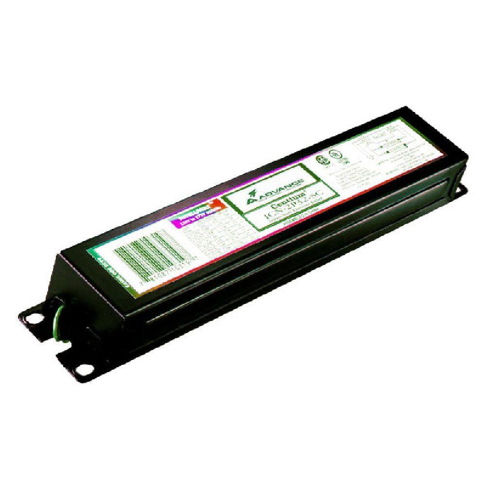 Philips Advance Centium 58/72-Watt 2-Lamp T12 3 ft. or 4 ft. Rapid Start High Frequency Electronic Fluorescent Replacement Ballast