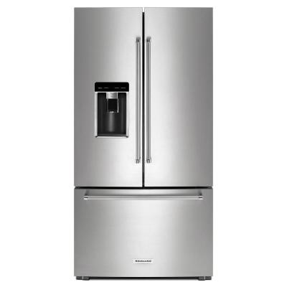 23.8 cu. ft. French Door Refrigerator in PrintShield Stainless Steel, Counter Depth