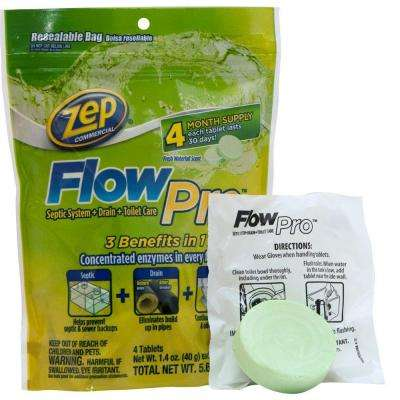 5.6 oz. FlowPro Septic System for Drain and Toilet (Case of 12)