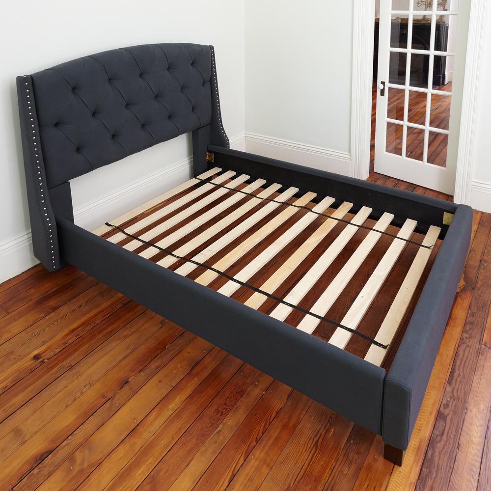 Diy Bathroom Shelf Ideas, Unbranded Titan 52 875 In W X 72 In L X 0 75 In H Heavy Duty Solid Wood Euro Full Bed Support Slats 128113 5031 The Home Depot