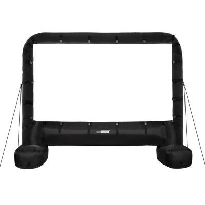 168 in. Indoor/Outdoor Inflatable Mega Movie Projector Screen with Carry Bag