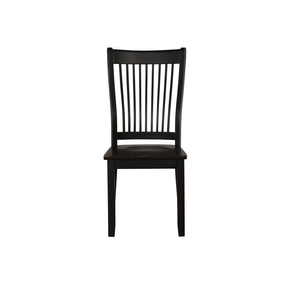 Renske Black Side Chair (Set of 2)