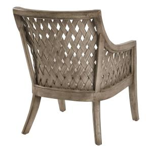 Superb Plantation Grey Wash Lounge Chair With Cushion In Dailytribune Chair Design For Home Dailytribuneorg