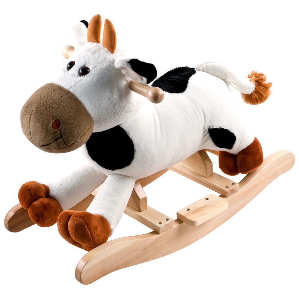 Plush Rocking Connie Cow