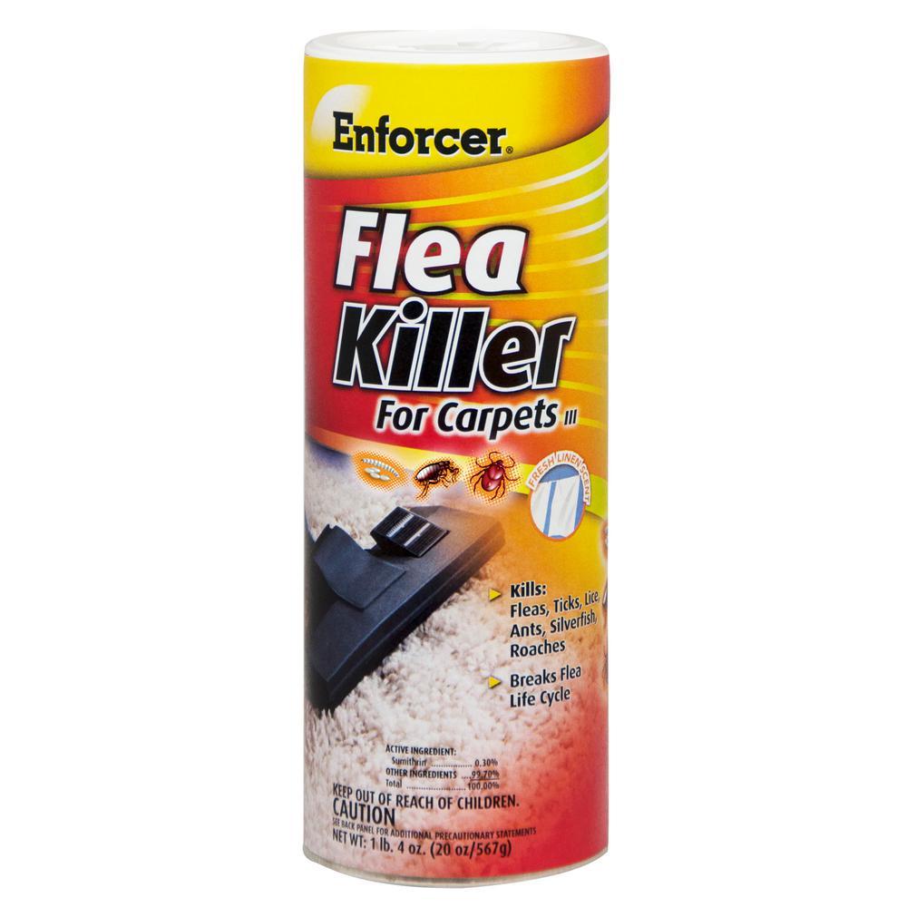 enforcer 20 oz carpet flea powder case of 12 efkir203 the home depot. Black Bedroom Furniture Sets. Home Design Ideas