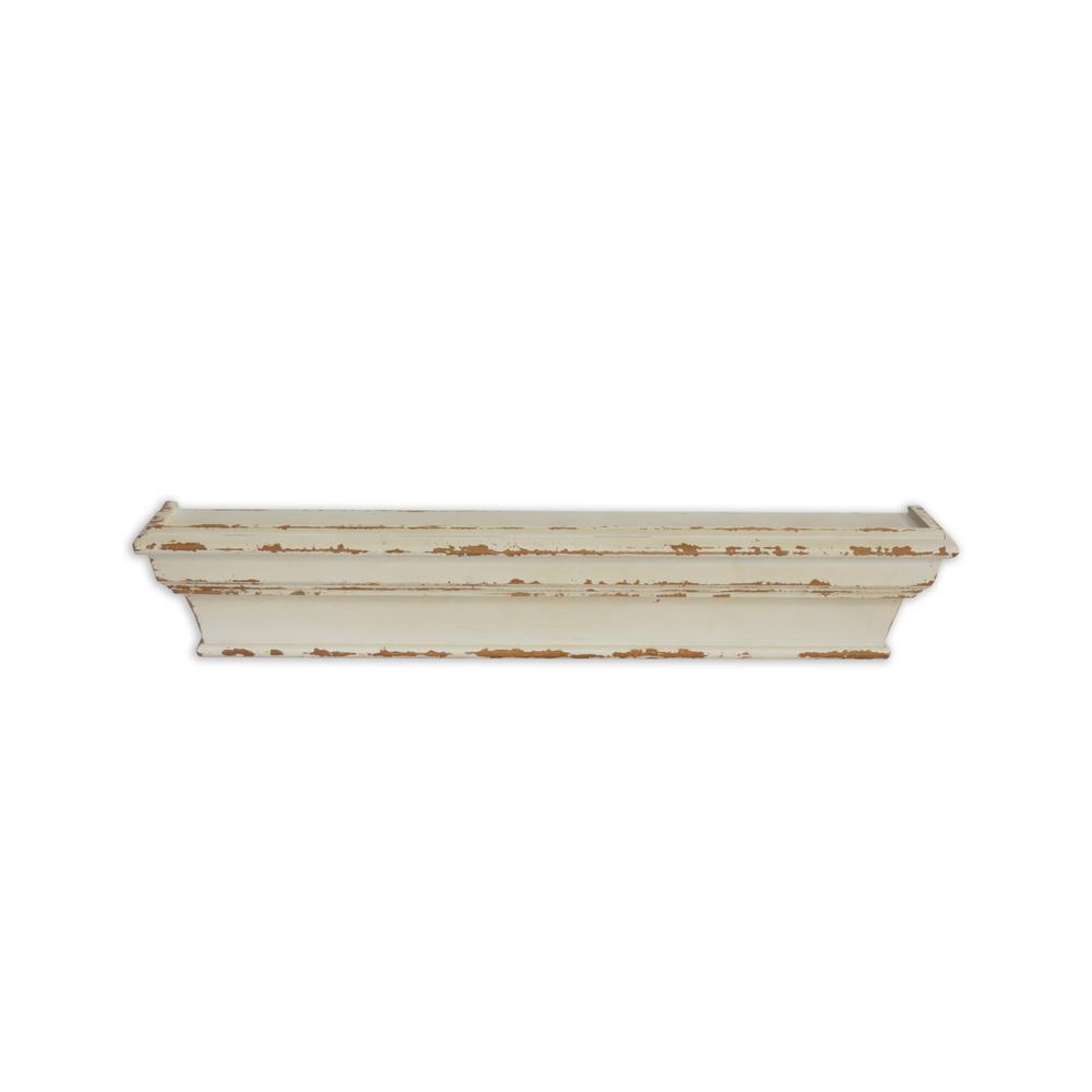 Cheyenne Distressed 24in Wood Wall Shelf U17623S