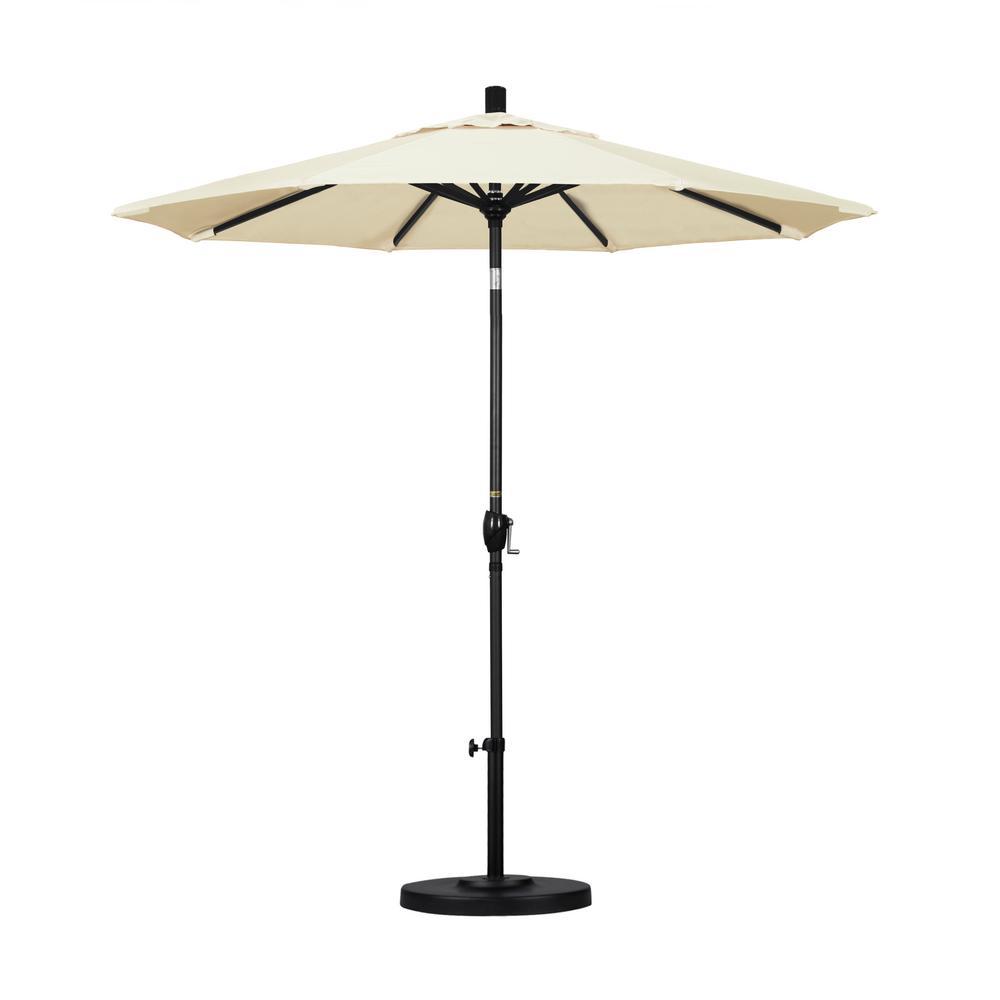 7-1/2 ft. Fiberglass Push Tilt Patio Umbrella in Canvas Pacifica