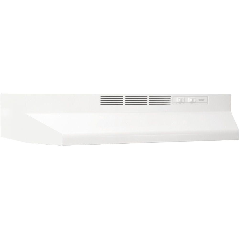 41000 Series 36 in. Ductless Under Cabinet Range Hood with Light