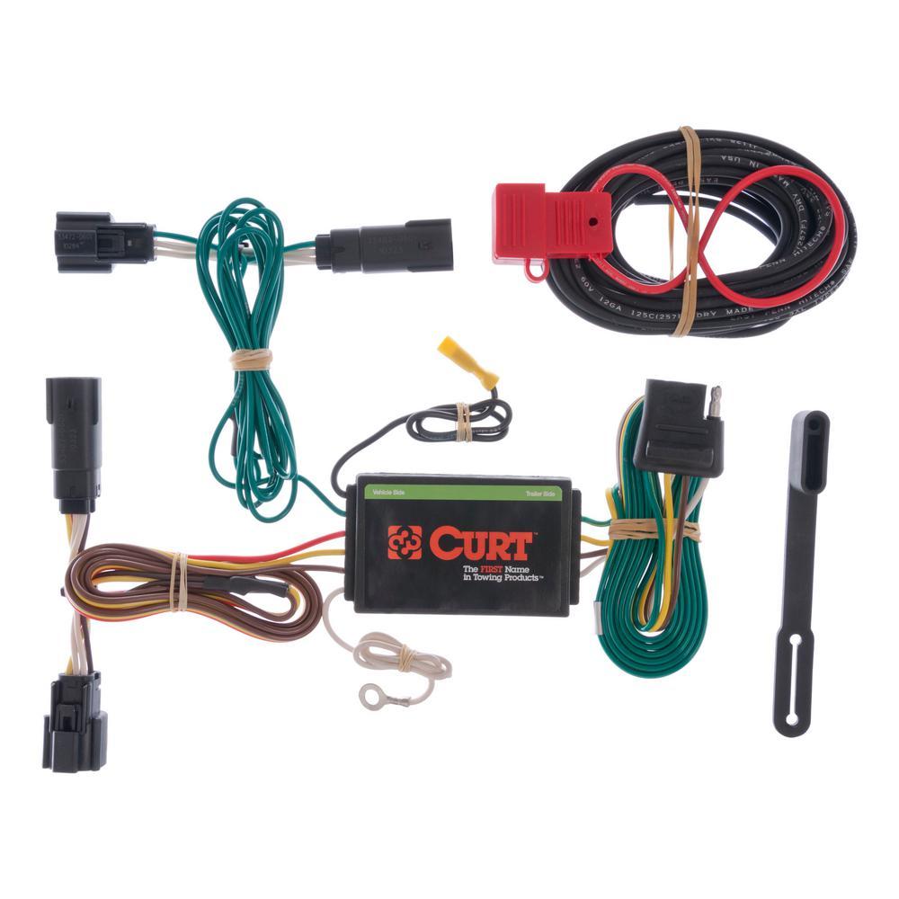 custom wiring harness (4-way flat output)