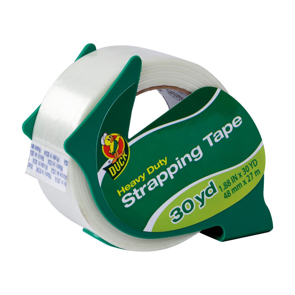 Heavy Duty 1.88 in. x 30 yd. Strapping Tape with Dispenser,