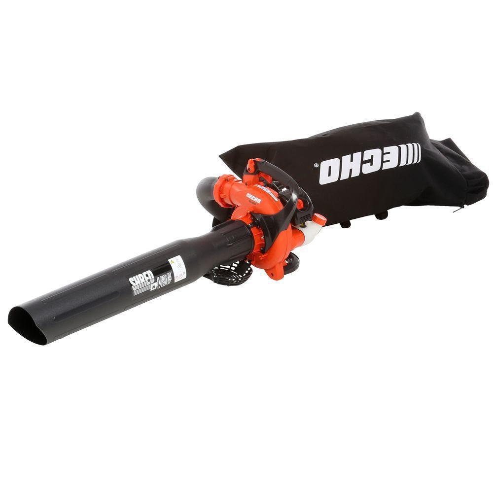 191 MPH 354 CFM 25.4cc Gas 2-Stroke Cycle Leaf Blower Vacuum