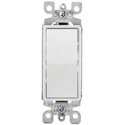 Decora Plus 15 Amp Switch, White