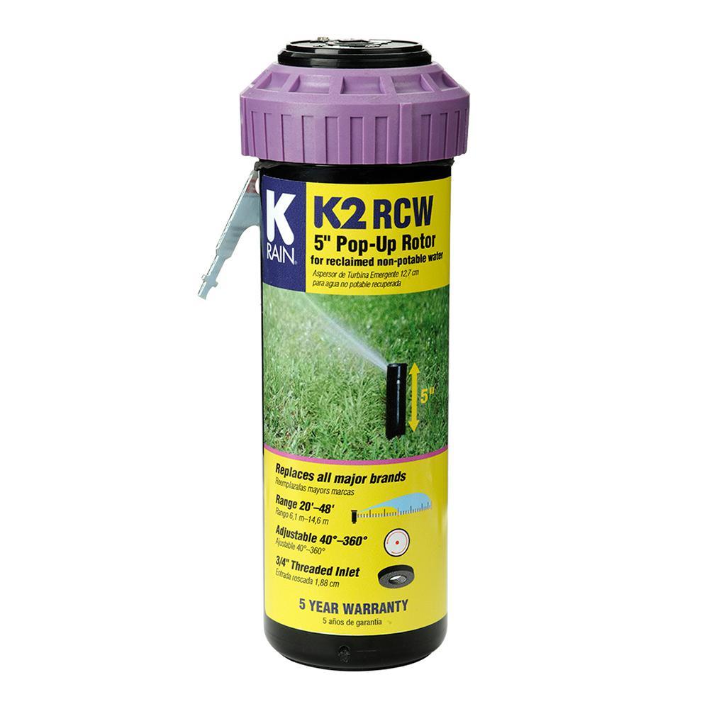 5 in. K2 Smartset Reclaim Water Gear Drive Sprinkler