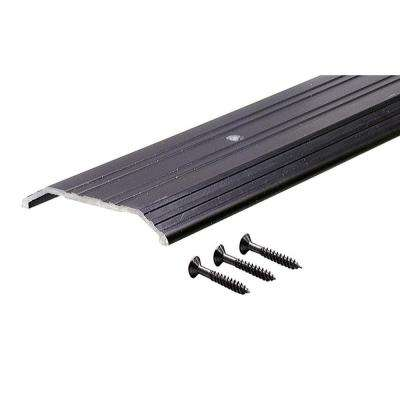 TH014 1/2 in. x 4 in. x 72 in. Bronze Fluted Saddle Threshold