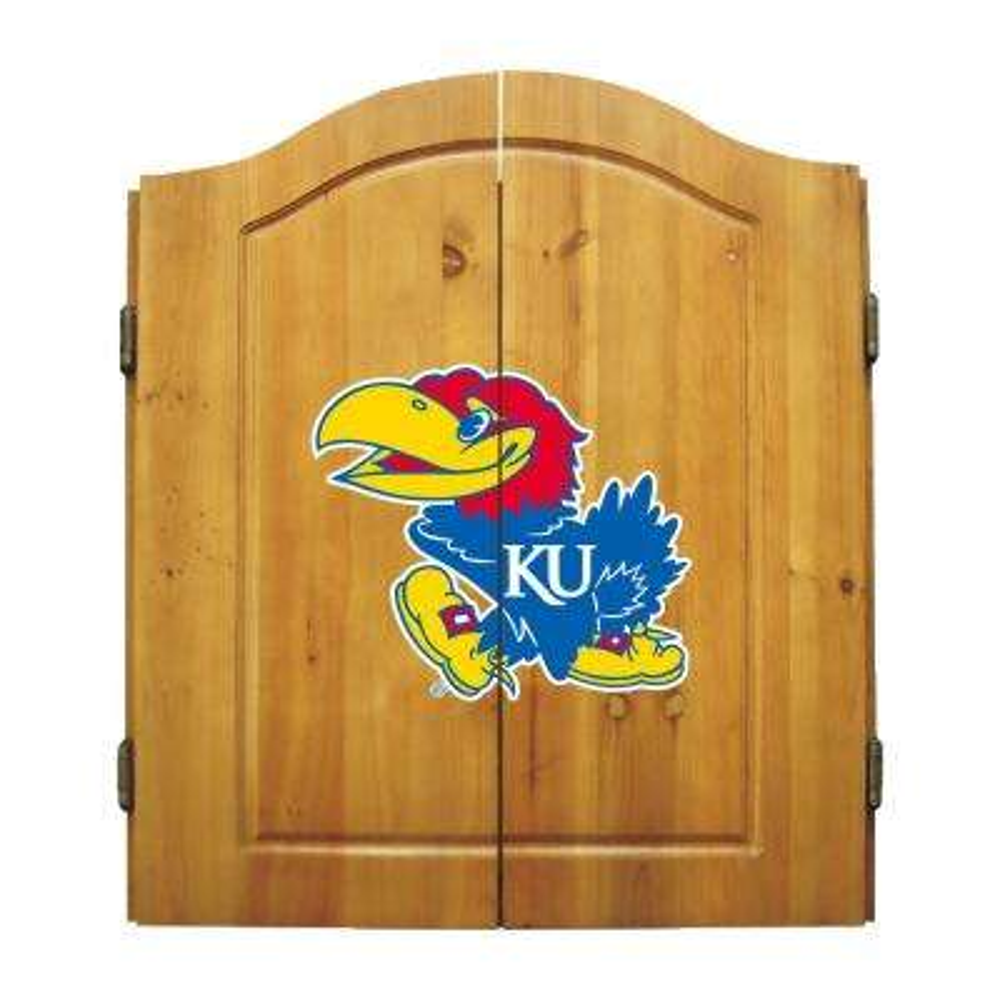 University of Kansas Dart Cabinet