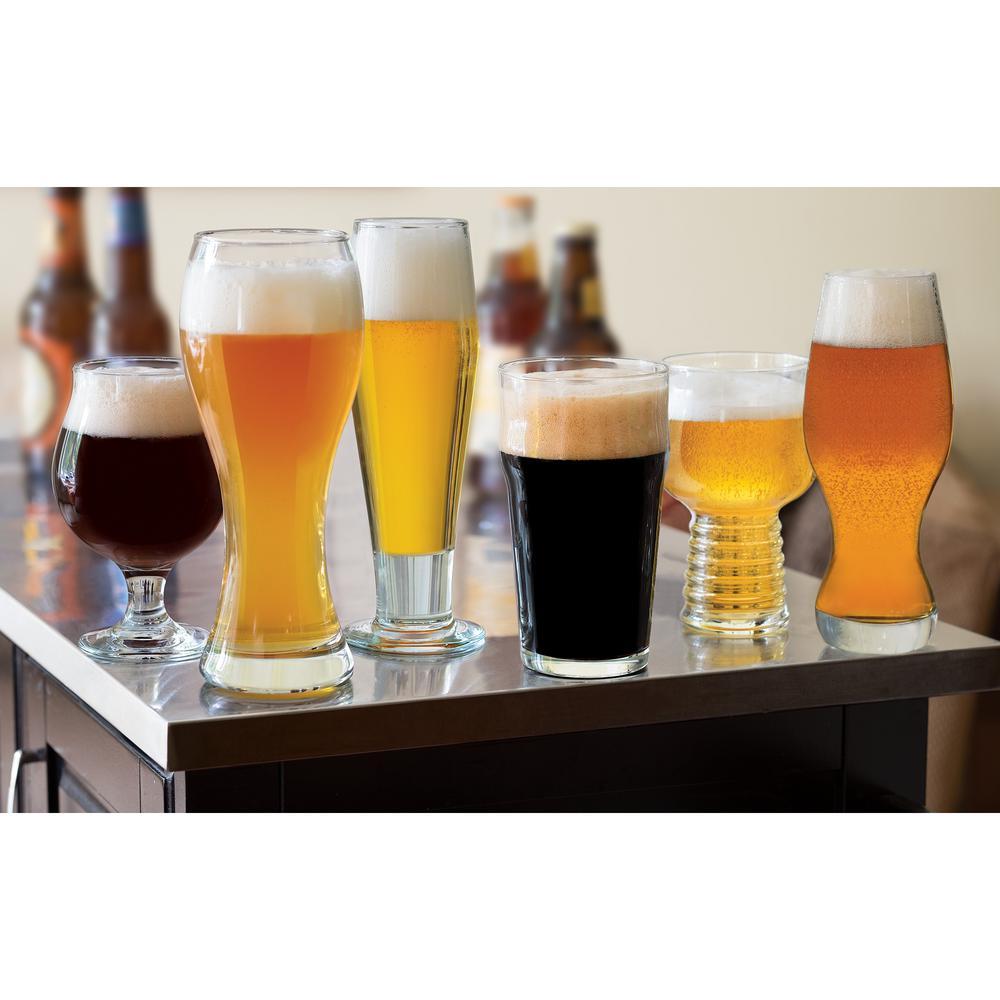 Craft Brews Assorted Beer Glass Set (6-Pack)